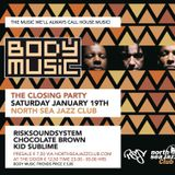 RiskSoundSystem - Best of BODY MUSIC - live on Radio Decibel