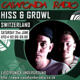 HISS & GROWL // SWITZERLAND // DROPOUT RECORDS SHOWCASE 21-06-2014 02:00