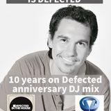 Smashing Sebastian 10 Years On Defected Anniversary DJ Mix