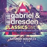 Gabriel & Dresden @ Inoki pres. Gabriel & Dresden Classics Only – 13.08.2016 [FREE DOWNLOAD]