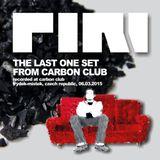 DJ Piri - The Last One Set From Carbon Club (2015-03-06)