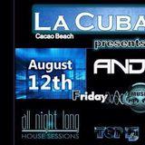 Andrey Exx @ La Cubanita Beach Bar, Sunny Beach 12.08.2016
