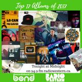 Top 17 Albums of 2017 (WIB Rap Radio Countdown)