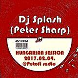 Dj Splash (Peter Sharp) - Hungarian Session @ Petőfi rádió 2017.02.04.