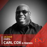 Carl Cox w/ Jon Rundell & Joe Brunning from DJ Mag HQ 2/4/2015