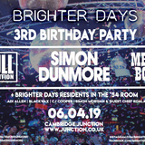 Brighter Days 3rd Birthday Preview #3 - CJ Cooper's Melting Pot of 80's Disco Fabulousness