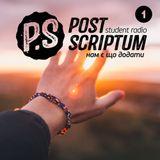 """Student Radio """"PostScriptum"""" - Нешуточный разговор (1-й выпуск)"""