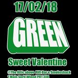Matt Bells Green Valentines Bash little taster Mix.