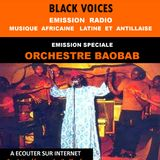 émission de BLACK VOICES spéciale ORCHESTRA BAOBAB  sur RADIO DECIBEL dans le LOT 04/2016