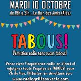 Tabous! en direct du Bar des Amis 10 10 17