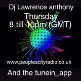 dj lawrence anthony pcr show 16/4/15
