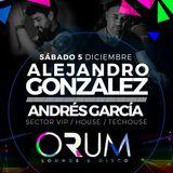 Andrés García - live set  Orum Lounge & Disco (Copiapó Chile)