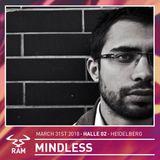 Mindless & MC Resident // RAM Easter Session // 31.03.2017 Heidelberg