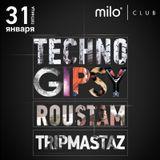 MILOMANIA Radioshow 31/01/14 - гости эфира Roustam и Tripmastaz