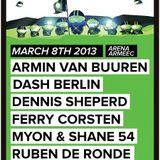 Dash Berlin - Live @ A State of Trance 600 Sofia (08.03.2013)