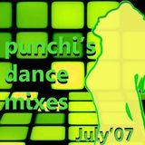 PUNCHI'S DANCE MIXES JULY'07