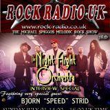 The Michael Spiggos Melodic Rock Show feat. Bjorn Strid (The Night Flight Orchestra) 01.07.2018