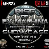 Rise Of Ex Machina Recordings Showcase Mix @ Katalepsys and Guests Radioshow on Dirtlab Audio