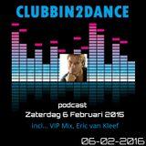 Allard Eesinge - Clubbin2Dance incl... VIP Mix, Eric van Kleef (06-02-2016)