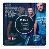 PSDJteam WEEKEND EXPRESS Gorod FM p103 (12-10-2016)