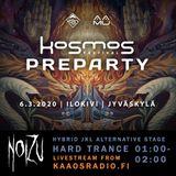 NoiZu - Kosmos Festival Preparty (Recorded Live by Kaaosradio)