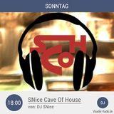 DJ SNice - Live @ Visador Radio - SNice Cave Of House - 15.11.2015