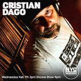 Cristian Dago NYCHOUSERADIO.COM 2018 EP15