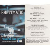 DJ Rhettmatic: U Call Dis a Mix Tape (Piece of Shit, Volume 3) (1995?)