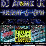 20.06.17 Atomik Drum & Bass Radio-Active Show @ Lazer FM Worldwide