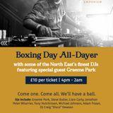 This Is Graeme Park: Colonel Porter's Newcastle 26DEC17 Live DJ Set