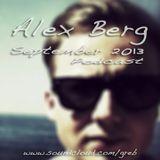 Alex Berg - September 2013 Podcast