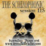 The Schizophonic on Trendkill Radio Session 115