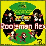Rootsman Flex MIX CD by Jah Rich