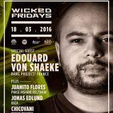 Juanito Flores. Wicked Fridays 18-03-2016. Hi Fi Techno.