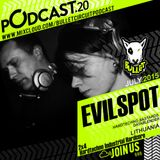 Bulletcircuit PODCAST#20 mixed by EVILSPOT