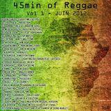 45min Of Reggae - Vol1 - Juin2012