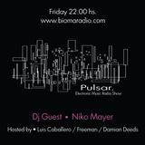 Pulsar 28.09 - Presenta a - Niko Mayer - (Live Set)