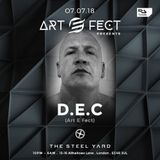 D.E.C live in the mix November 2018