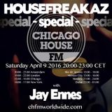 Housefreakaz Special, Chicago House FM, 09042016