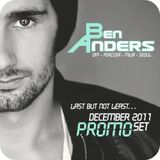 Ben Anders - Last But Not Least - December 2011 Promo Set