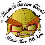 Desde la tercera cuerda entrevista a Peatón Lagunero transmitido por Radio Faro 90.1 fm