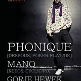 Phonique - Live @ Shanti Club, Moscow, Russia (24-02-2012)