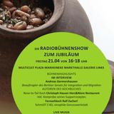 Engagement für Geflüchtete - multicult Plaza Radiobühnenshow 125. Jubiläum Marheineke Markthalle T1