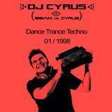 DJ CYRUS in the mix 01/1998 Dance / Trance / Techno