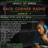 BACK CORNER RADIO: Episode #174 (July 9th 2015)