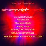 Paul Stuart Starpoint Radio - Sunday 7th July 2019