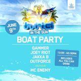 Jakka-B Live @ HTID in the sun 2017; Boat Party (09/6/17)