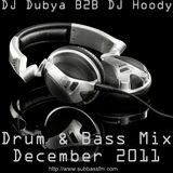 DJ Dubya B2B DJ Hoody - Drum & Bass Mix 2011