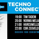 DJ Norma exclusive mix Techno Connection Nightflight Radio 09/03/2018
