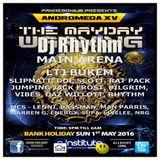 Dj Rhythm @ Pandemonium Andromeda XV, Sunday 1st May 2016. O2 Institute, Birmingham. www.djrhythm.tk